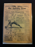 1961 Sporting News December 27 George Sisler Very Good