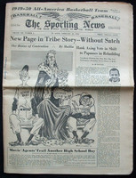 1950 Sporting News February 22 Spiriling Salaries : Name written on front, ow EX Very Good