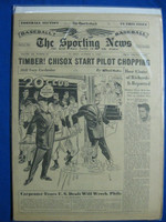 1950 Sporting News October 11 Whitey Ford Very Good to Excellent