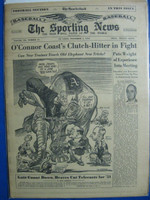 1950 Sporting News November 1 Walter O' Malley - Branch Rickey Very Good