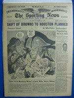 1950 Sporting News November 15 Grover Cleveland Alexander Dies Very Good to Excellent