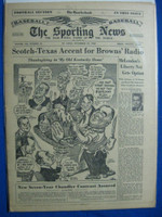 1950 Sporting News November 22 Honus Wagner Very Good