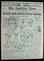 1951 Sporting News February 21 Happy Chandler Excellent [very light toning, clean]