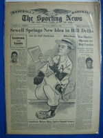 1951 Sporting News March 14 Stan Musial Excellent