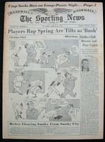1951 Sporting News March 28 Fred Clarke Very Good to Excellent [very light toning, clean]