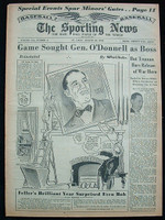 1951 Sporting News August 29 Bob Feller Excellent [clean]