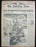1951 Sporting News November 7 Alvin Dark Very Good [toning on binding, contents great]