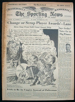 1951 Sporting News November 28 Gil Hodges Fair to Good [heavy soiling on binding, contents great]