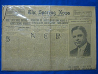 1918 Sporting News Jan 3 Harry Frazee Boston Red Sox Owner Fair to Good