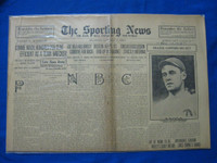 1918 Sporting News Jan 17 Stuffy McInnis Good to Very Good