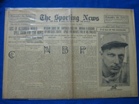 1918 Sporting News Jan 24 Grover Lowdermilk Good to Very Good