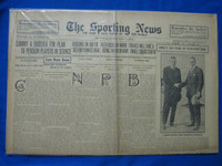 1918 Sporting News Feb 7 Larry Doyle and Charley Herzog Good to Very Good