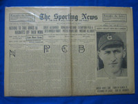 1918 Sporting News Feb 14 Joe Harris Good to Very Good