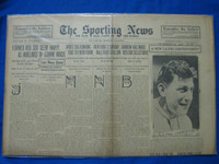 1918 Sporting News Mar 28 Nap Lajoie (Cover) Good to Very Good