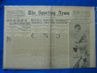 1918 Sporting News Apr 4 Jack Hendricks (Cover) - new Cardinals Manager Good to Very Good