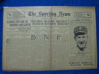 1918 Sporting News Apr 18 Grover Cleveland Alexander Joins Army (Cover) Good to Very Good