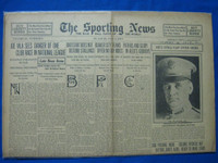 1918 Sporting News May 2 NY Giants great start Good to Very Good