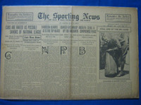 1918 Sporting News May 9 Grover Cleveland Alexander in army uniform (Cover) Good to Very Good