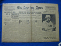 1918 Sporting News May 16 Shoeless Joe Jackson (joins ship yard to avoid WWI) (Cover) Good to Very Good