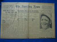 1918 Sporting News May 23 Leon Ames Good to Very Good
