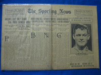 1918 Sporting News May 30 Jeff Tesreau Good to Very Good