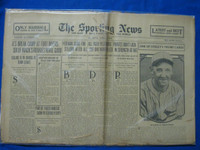 1930 Sporting News April 3 Bob Shawkey and NY Yankees Fair to Poor