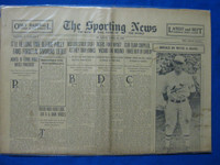 1930 Sporting News April 24 1930 Season Openers Fair to Good