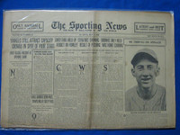 1930 Sporting News May 1 Yankees Poor Start Fair to Good