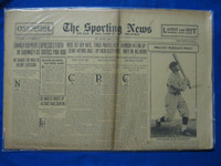 1930 Sporting News May 8 Promising Rookies Fair to Good