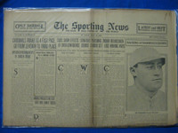 1930 Sporting News May 22 Hack Wilson Fair to Good