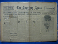 1930 Sporting News May 29 Cards Win 15 of 16 Fair to Good