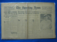 1930 Sporting News June 19 Goose Goslin (cover) Fair to Good