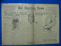 1932 Sporting News February 11 Barney Dreyfuss Dies Fair to Good