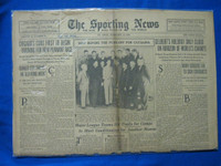 1932 Sporting News February 18 Buck Ewing Fair to Poor