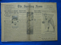 1932 Sporting News February 25 Bill Terry Fair to Good