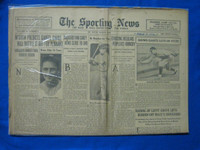 1932 Sporting News March 3 Waite Hoyt Fair to Good
