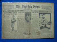 1932 Sporting News March 24 Babe Ruth / Joe McCarthy Fair to Good
