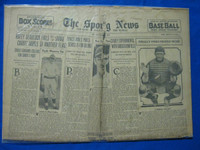 1932 Sporting News March 31 Smead Jolley Poor