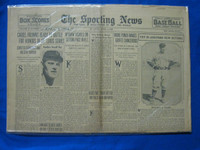 1932 Sporting News Arpil 7 Burleigh Grimes Fair to Good