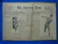 1932 Sporting News April 21 Beans Reardon Fair to Good
