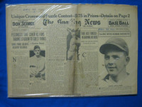 1932 Sporting News April 28 George Kelly : Portion cut from cover Fair to Poor