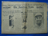 1932 Sporting News June 16 Mel Ott Poor