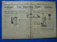 1932 Sporting News June 23 Dizzy Dean Poor