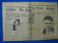 1932 Sporting News June 30 Lefty Gomez Poor