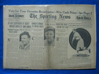 1932 Sporting News July 14 Dickey Suspended Fair to Poor