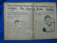 1932 Sporting News September 22 Ruth / McCarthy '32 Yanks Fair to Poor