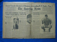 1932 Sporting News October 20 1932 Yanks Gossip Fair to Poor