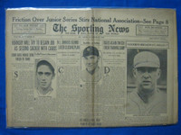 1932 Sporting News October 27 Rogers Hornsby Fair to Good