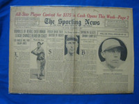 1932 Sporting News November 3 Nap Lajoie Fair to Good