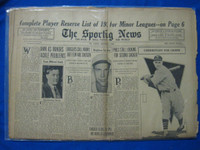 1932 Sporting News December 1 Branch Rickey Fair to Good